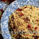 Арабский салат с кускусом