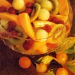 Фруктовый салат с портвейном