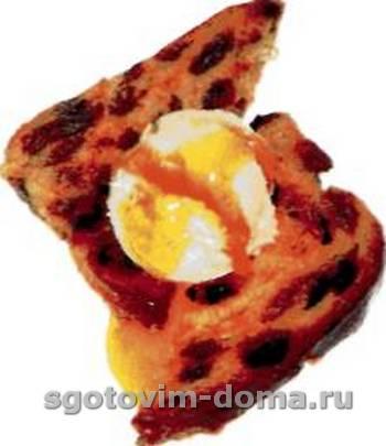 Фруктовый тост по-французски