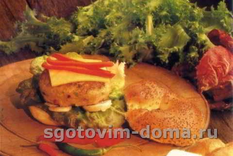 Гамбургеры со сладким перцем