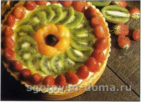 Классический фруктовый торт