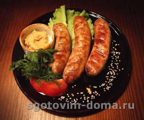 Колбаски-гриль