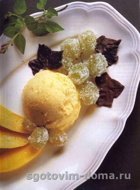 Манговое мороженое