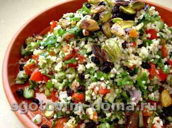 Салат из злаков