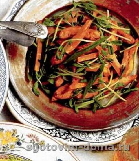 Салат с курицей по-тайски