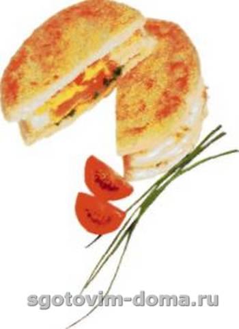 Сандвич с яйцом