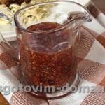Смородиново-горчичный соус для барбекю