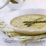 Суп крем из спаржи