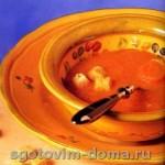 Суп – пюре из запеченной моркови и сладкого перца