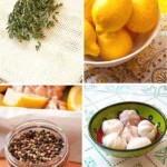 Лимонно-чесночный маринад для рыбы и курицы