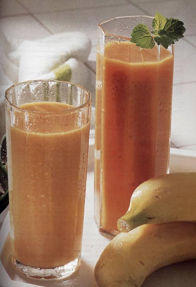 Напиток Банан-Морковка