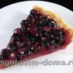 Тарт из творога и летних фруктов