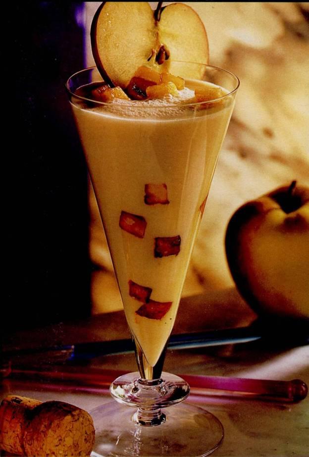 Пахта с яблочным сиропом