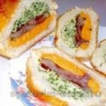 Бутерброды с селедкой под шубой