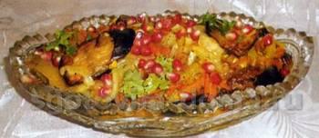 Рагу из баклажанов овощное