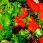 Салат из китайской капусты с помидорной заправкой