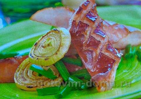 Колбаса на гриле по-китайски