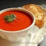 Суп томатный с овощами