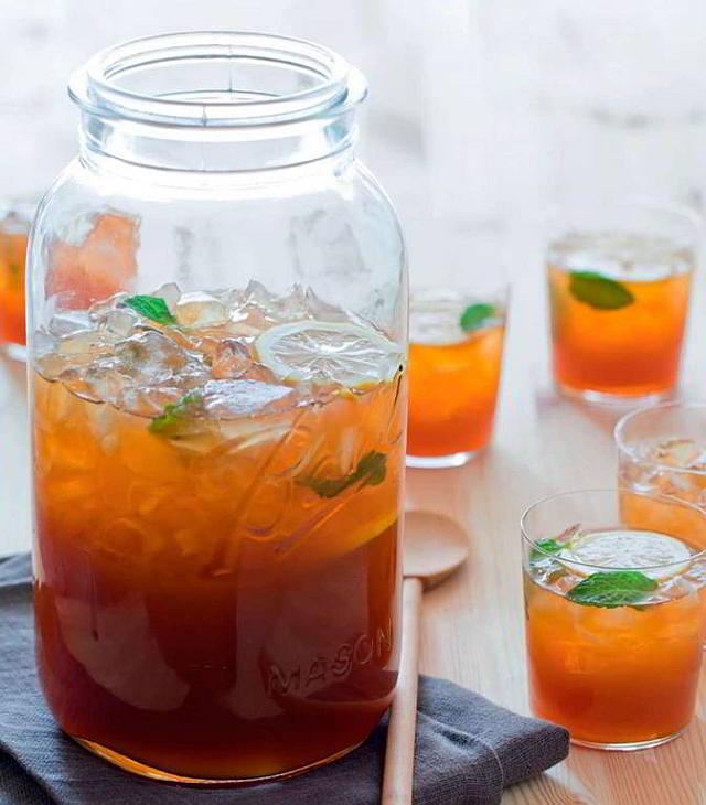 Типси палмер, алкогольный вариант коктейля Арнольд Палмер