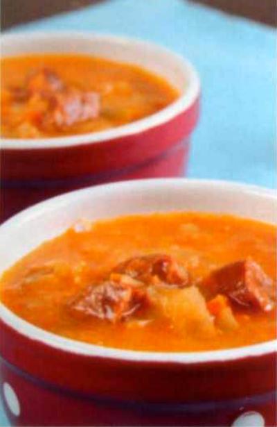 Суп-гуляш фото чешский рецепт